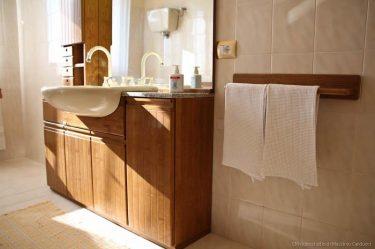bagno privato nel B&b a Montefalco